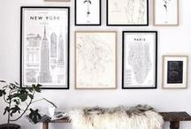 Art at Home / Use this board for art inspiration for your CLV Group apartment. Make your apartment your own; #nowyourehome.