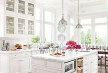 Colour in the Kitchen / Make your CLV Group apartment kitchen pop by adding a bit of colour.