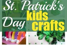 St. Patrick's Day crafts for kids / Easy and fun St. Patrick's Day arts & crafts activities for toddlers and elementary children