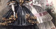 adriana buico  1840-58 / dal XIX sec. abiti, accessori e acconciature