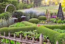 Garden's to love ♥ / by Linda Fleming