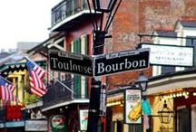 I want to go to NEW ORLEANS! / I want to get crazy and loose myself in the beauty and mystery of the French inspired lure of New Orleans!
