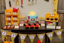 Construction Party Ideas / Trucks, trucks and more trucks!