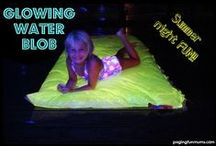 Glow in the Dark Fun / Looking for some Glow in the Dark Fun ideas? Well look no further, this is your one stop show for everything GLOWING!