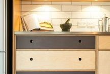 Kitchen concepts / Simple retro Scandinavian designs...