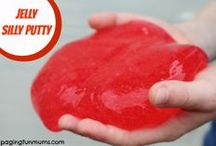 Slime, Silly Putty & Goop! / Super Fun and great sensory play for kids of all ages! The more mess the merrier we say!