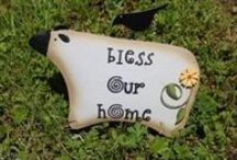 Home, Home on the Range! / Decor for your home, garden, and back porch sitting!