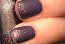 Chic Fall Nails / Chic nail art and colors for this fall