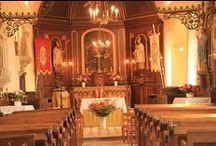 A la découverte des églises de nos villages / Témoins des époques, lieux de vie, de rassemblements populaires, les édifices religieux de nos campagnes ont tous une histoire à nous raconter.  Durant l'été, une dizaine d'églises et/ou de chapelles, dont certaines sont la plupart du temps fermées au public, vous ont ouvert leurs portes pour des visites commentées.  Retour en image : - sur les églises de Sainte-Foy et de Saint-Honoré // 31 août 2014 - sur les églises de Saint-Crespin et de Criquetot-sur-Longueville // 30 août 2015