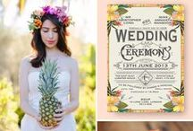 Colour Inspiration | Weddings