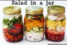 Salads Galore / A bunch of yummy salads and dressings that the whole family should enjoy!