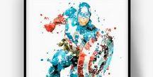 SUPERHEROES | CZ / Superheroes Fan Art