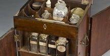 Antique / Pieces of furniture, arts.