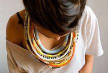 eu colo, tu colores, nós colares / colares e outros acessórios / by Ci εlizabεt