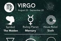 ♍ Virgo Astrology ♍ / August 23 - September 22.  Virgo people tend to be very conscious of details. They may appear nervous or obsess over health issues. They are likely to be neat and orderly, at least in some area of their life, although they may exhibit the opposite tendency in cases where they have not yet found their guiding principle of organization. Virgos love work, service to others and the gathering of the fruits of the material world, as symbolized by the harvest.