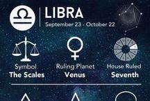 ♎ Libra Astrology ♎ / September 23 - October 22.  Libra is the sign of harmony and relationship. The Sun in Libra is at the time of the Equinox, when day equals night, and similarly Libra strives for balance between polarities.  Librans are known for their good taste, elegance and charm. They are seekers of harmony and beauty. Their natural mode of living is in partnership with others. Intimate relationships are quite important to them, as are issues of social justice.