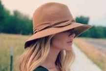 Hats / Stylish, edgy, daring and very charming. Love hats!
