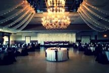 The Ballroom  / The Ballroom is not only one of the largest banquet room in West Michigan, with room for over 450 people, but also one of the most classically elegant. The Ballroom is illuminated by a beautiful chandelier from the former Pantlind Hotel.