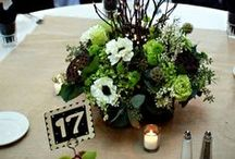 Centerpieces at English Hills / This is the collection of beautiful centerpieces that have been done at English Hills