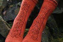 Knitting hats, socks, cowls etc