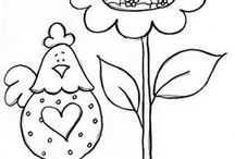 Coloring sheets / by Lori Schill