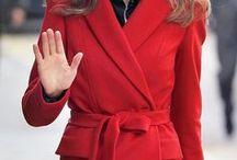 Fashion - burgundy & red