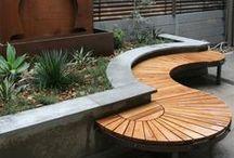 arredo esterno + giardino / arredo esterno per terrazze giardino, design per esterno