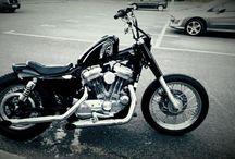 My bikes / Harley Shovelhead Sportster Z650 SR