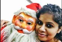 Selfie with Santa / Selfie with santa facebook contest