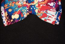 Psychedelic Bow Ties / It's funky bow ties