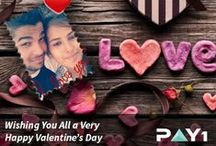 #iloveyou - Valentines day Special / Love is in air. It's Valentine's Week. Make your better half feel special on this occasion. Enter Pay1's #iloveyou Contest on facebook and win a RECHARGE VOUCHER WORTH Rs 2000/- for more love talks. Follow the instructions below: 1. Click a selfie with your loved ones with a beautiful caption. 2. Tag your friends. Ask them to like our page and your photo.  http://goo.gl/T1XkHo