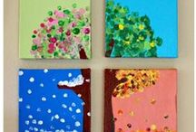Painting with Young Children / Kids love painting and playing with water. It is a time for them get messy, have fun, and get creative. Let's get more ideas of this topic.