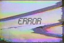 error / explore the error at post internet art