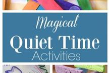 Quiet Time Activities for young kids