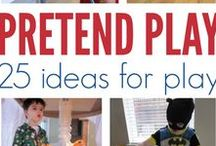 """Pretend Play Power / Do you know kids are born to """"PLAY""""? Pretend play is one of the best things to play with. Want to know more detail, you can visit http://fortunecookiemom.com/2016/06/activities-spark-in-summer-3/"""