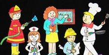 Community Helpers' Activity for kids