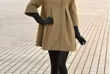 Fashion - woman´s coat inspiration
