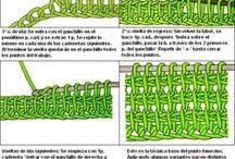 Crochet pattern - tunisian stitches