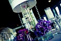 Wedding Reception Decorations / Wedding Reception room decorations inside Regale at DC Ranch in Scottsdale Arizona.