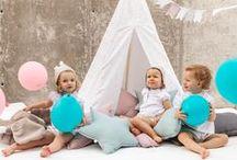 Fiestas y Cumples / Decoración para fiestas y cumples. Tipis y guirnaldas para niños. Decoración de fiestas de cumpleaños.