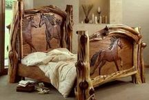 log home or cabin furniture / perfect cabin funiture / by AZ Vette