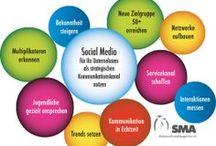 Corporate Social Media / In einer Social Media Strategie legen wir Grundsätzliches für Ihr Unternehmen fest. Dabei spielen Ihre Botschaft, Ihre Ziele, der ROI und die Auswahl der richtigen Social Media Kanäle eine große Rolle. In dieser Pinnwand finden Sie Tipps, um Social Media (Facebook, Twitter, Google+, YouTube, XING & LinkedIn...) für Unternehmen als strategischen Kommunikations-Kanal zu nutzen. Dabei nehmen Employer Brandung und Job-Recruiting einen großen Stellenwert ein.