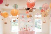 Eventos | Dicas de decoração / Ideias para uma festinha de arrasar! ;)