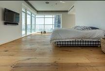 BEDROOMS / Inspirational bedrooms in Dubai and around the world featuring beautiful wood flooring.