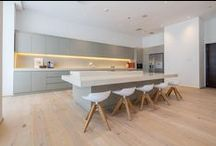 KITCHENS / Inspirational kitchens in Dubai and around the world featuring beautiful wood flooring.