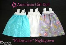Poupées American girls - vêtements / by Anne Mali