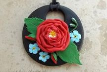 My jewellery- polymer clay