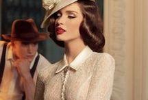 Vintage Style & Vintage Fashion | Topazery / Elegant and classy vintage style we love.