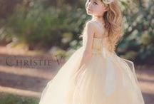 Vintage Flower Girls | Topazery / Lovely, adorable, vintage styled flower girls.  Inspiration for your special day.