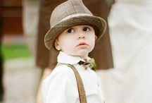 Vintage Ring Bearers | Topazery / There are very few things more adorable than a ring bearer.  Especially a vintage inspired ring bearer.  Showcasing some of our favorite little bearers of rings.